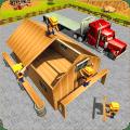 Wood House Construction Simulator Icon
