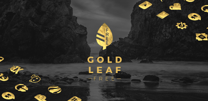 Gold Leaf - Icon Pack (Free Version) apk