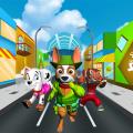 Dog Run of world Icon