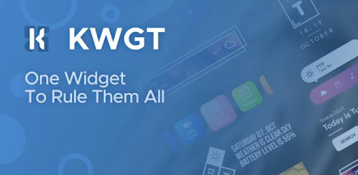 KWGT Kustom Widget Pro Key apk