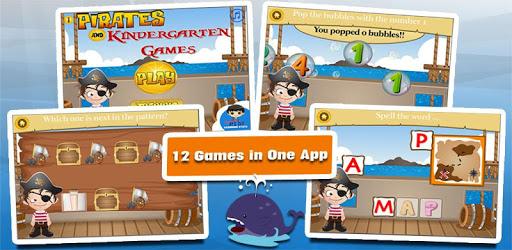 Pirate Kindergarten Games apk