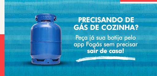 Fogás: Botija de Gás de Cozinha com Entrega Rápida apk