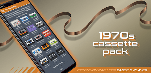 Casse-o-player 1970s Cassette Pack apk