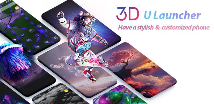 U Launcher Lite-New 3D Launcher 2019,Hide apps apk