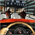 Zombie Road Squad: Car War 3D Icon