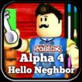 Hello Neighbor Roblox Alpha 4 Guide Icon