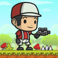 Superboy World: Shoot And Jump Icon