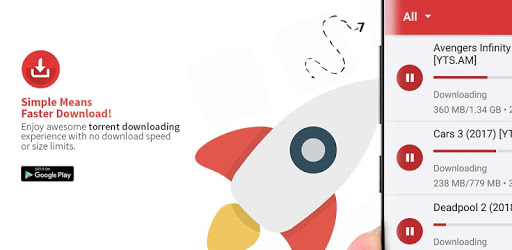 Torrent Downloader - No Limits Torrent Downloader apk