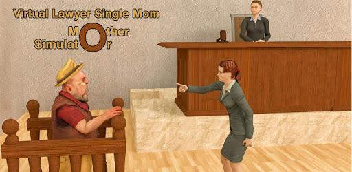 Virtual Lawyer Single Mom - Mother Simulator apk