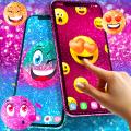 Emoji glitter live wallpaper Icon