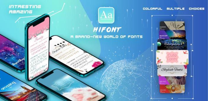 HiFont - Cool Fonts Text Free + Galaxy FlipFont apk