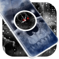 Skull Clock Live Wallpaper Icon