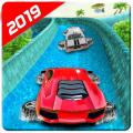 Water Car Racing Extreme Stunts Game Icon