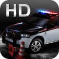 police car parking 3D HD Icon
