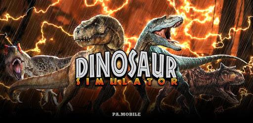 Dino Sim: Dinosaur Simulator City Rampage apk