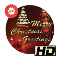 Merry christmas card Icon