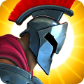 Olympus Rising: Hero Defense and Strategy game Icon