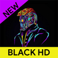 Blackn - Black Wallpaper HD 4K Icon