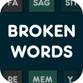Broken Words - Free Icon