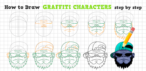 How to Draw Graffiti Characters apk