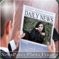 NewsPaper Photo Frames Icon