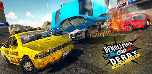 Demolition Car Derby Stunt 2020: Car Shooting Game apk