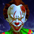 Scary Clown Survival - Haunted House Escape Game Icon