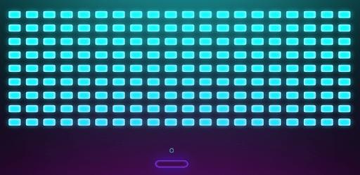 Atari breakout- Neon Arcadia: Brick breaker apk