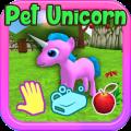 Unicorn Pony Pet Care Icon