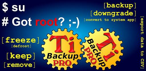 Titanium Backup PRO Key ★ root needed apk