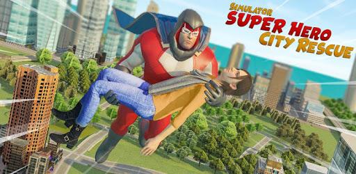 Super Hero City Rescue Simulator apk