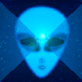 Runner in the UFO - Music Visualizer Premium Icon