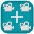 Unlimited Video Merger Joiner - Total Video Editor Icon