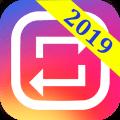 Repost for Instagram 2019 - Repost Video & Photo Icon