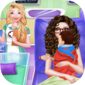 Newborn Care Game Pregnant games Mommy in Hospital Icon