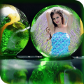 Bubble Photo Frames Icon