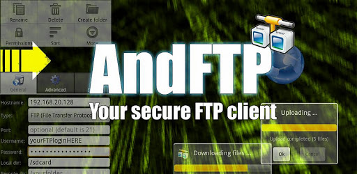AndFTP (your FTP client) apk