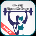 30 Days Fitness Challenge Icon