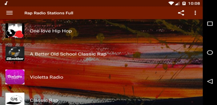 Rap Radio Stations Full apk