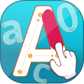 ABC  Alphabet  Tracing Book Icon
