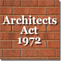 The Architects Act 1972 Icon