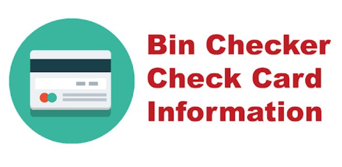 Bin Checker - Check Card Information apk