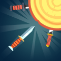 shoot knife game Icon