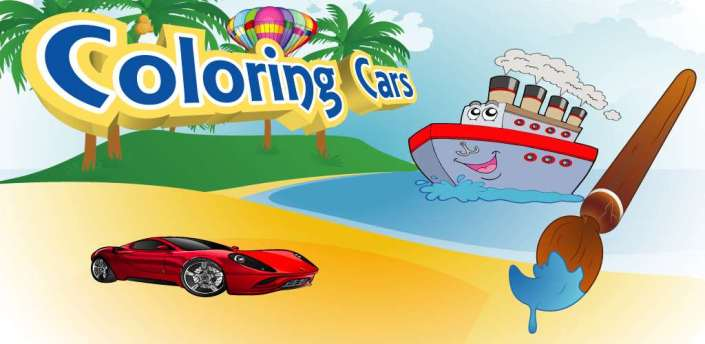 Cars Coloring Pages apk