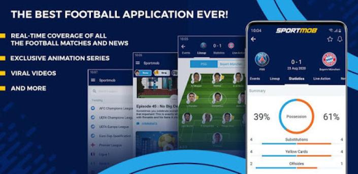 SportMob - Live Scores & Football News apk