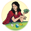 Tarot Cards Reading & Meanings Icon