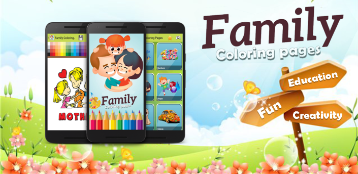 Family Coloring Pages apk