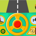 Car Driving Simulator (Car sound game for babies) Icon