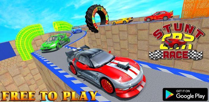 Vain Mega Ramps Stunt Car Game apk