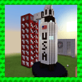 ARES-I – MISSION TO MARS. MCPE map Icon